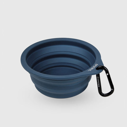Sputnik Collapsible Travel Bowl - Blue