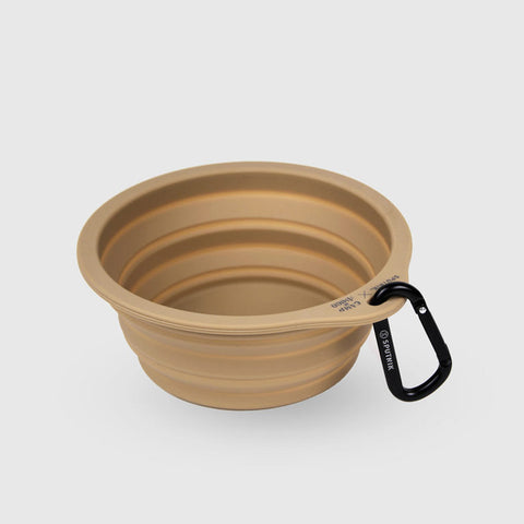 Sputnik Collapsible Travel Bowl - Nude (Limited Edition)