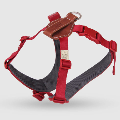Sputnik Comfort Dog Harness (Red)