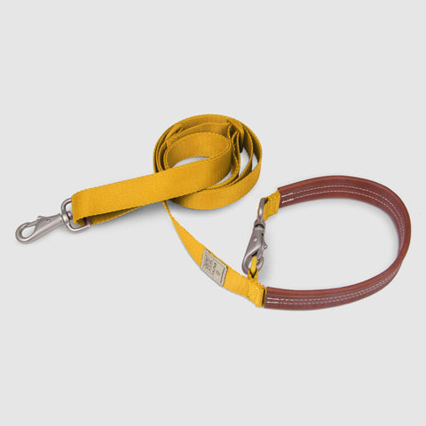 Sputnik Multi-Function Dog Leash - Yellow (Small / Medium)