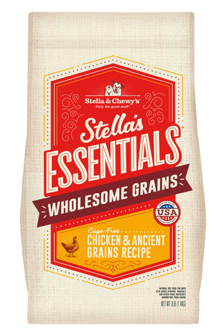 Stella & Chewy's - Stella's Essentials Wholesome Grains Chicken & Ancient Grains Recipe Dry Dog Food (1.4kg/11.3kg)