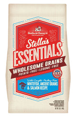 Stella & Chewy's - Stella's Essentials Wholesome Grains Whitefish, Ancient Grains & Salmon Recipe Dry Dog Food (1.4kg/11.3kg)