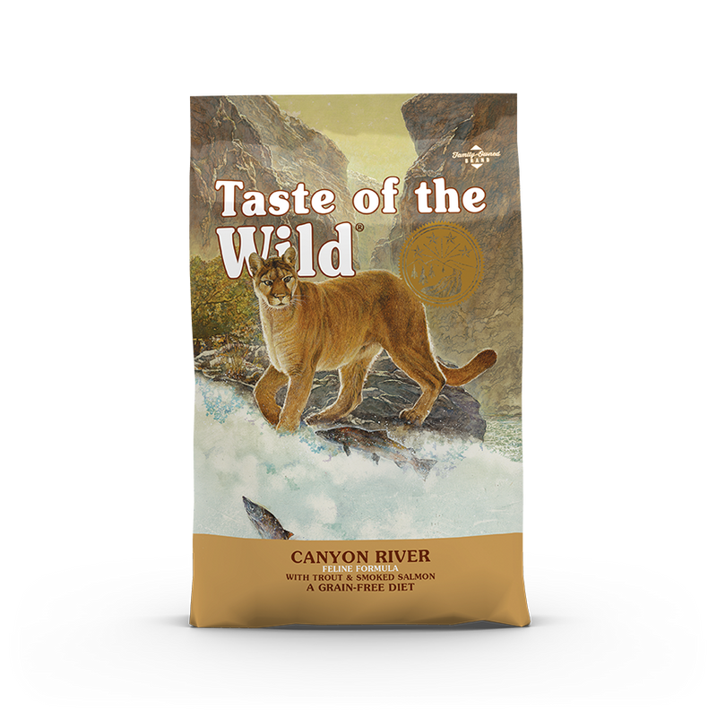Taste Of The Wild - Canyon River Trout Feline Recipe Dry Cat Food (2 sizes)
