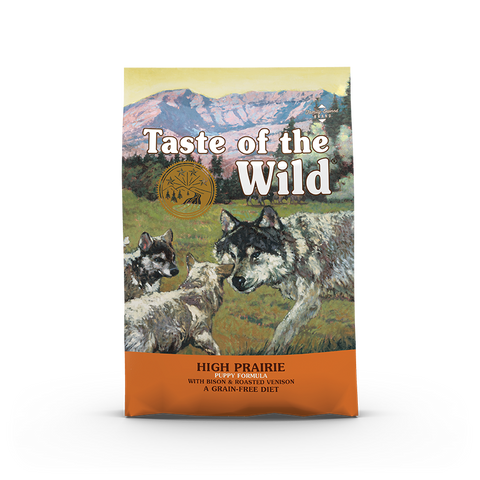 Taste Of The Wild - High Prairie Roasted Bison & Roasted Venison Puppy Recipe Dog Dry Food (2 sizes)