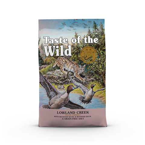 Taste Of The Wild - Lowland Creek Feline Recipe Dry Cat Food (2 sizes)