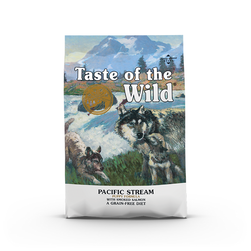 Taste Of The Wild - Pacific Stream Smoked Salmon Puppy Recipe Dry Dog Food (2 sizes)