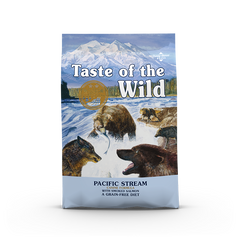 Taste Of The Wild - Pacific Stream Smoked Salmon Canine Recipe Dry Dog Food (2 sizes)