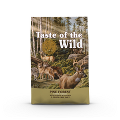 Taste Of The Wild - Pine Forest Venison Canine Recipe Dry Dog Food (2 sizes)