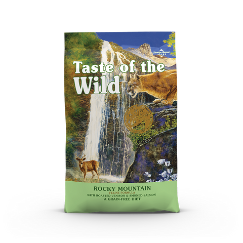 Taste Of The Wild - Rocky Mountain Roasted Venison Feline Recipe Dry Cat Food (2 sizes)
