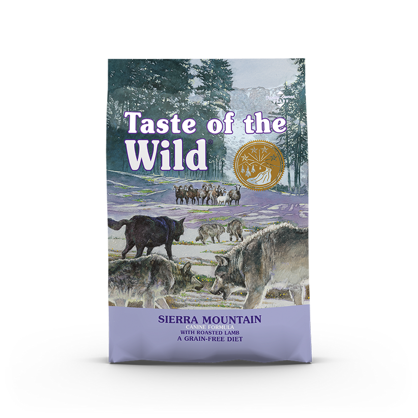 Taste Of The Wild - Sierra Mountain Roasted Lamb Canine Recipe Dry Dog Food (2 sizes)