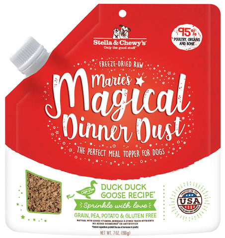 Stella & Chewy Marie's Magical Dinner Dust - Duck Duck Goose Recipe (198g)