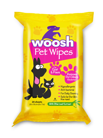 Woosh Wet Wipes (Value Pack)