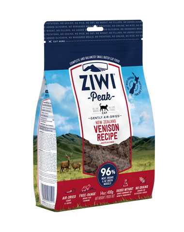ZIWI Peak Air-Dried Venison Cat Food (400g)