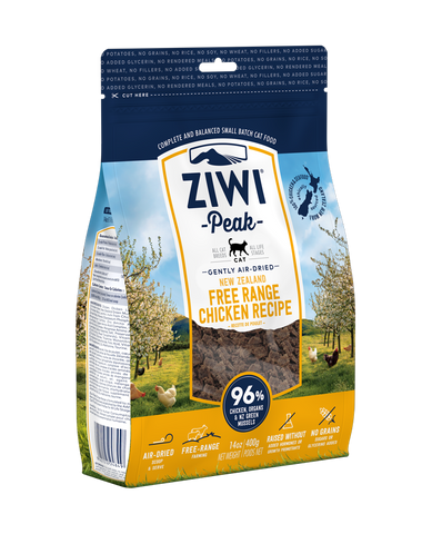 ZIWI Peak Air-Dried Chicken Cat Food (2 sizes)