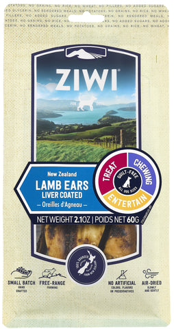 ZIWI Air-Dried Lamb Ears Dog Treat