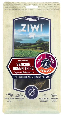 ZIWI Air-Dried Venison Green Tripe Dog Treat