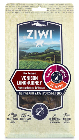 ZIWI Air-Dried Venison Lung & Kidney Dog Treat