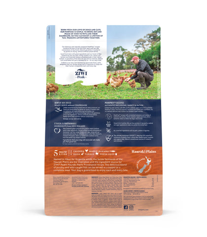 ZIWI Peak Provenance Hauraki Plains Air-Dried Dog Food (140g/900g/1.8kg)