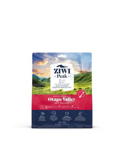 ZIWI Peak Provenance Otago Valley Air-Dried Cat Food (128g/340g)