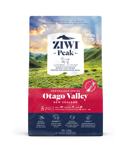 ZIWI Peak Provenance Otago Valley Air-Dried Dog Food (140g/900g/1.8kg)