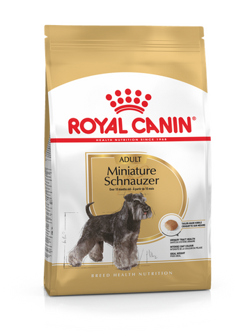 Royal Canin - Miniature Schnauzer Adult Dry Dog Food (3kg)