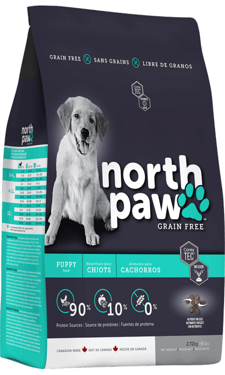 North Paw Grain Free Puppy Food (2 Sizes)
