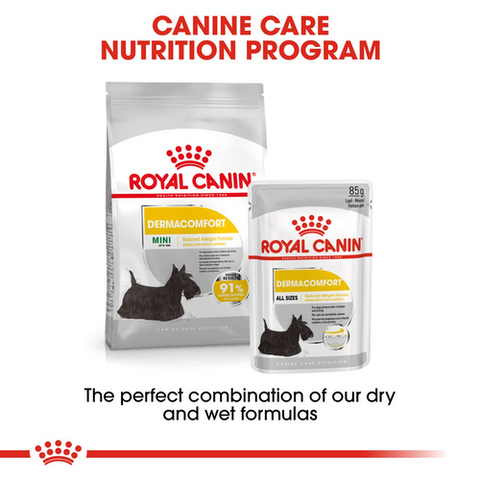 Royal Canin - Mini Dermacomfort Dry Dog Food (1kg/3kg/8kg)
