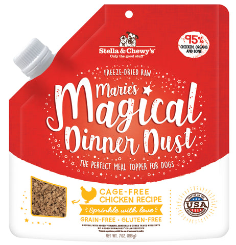 Stella & Chewy Marie's Magical Dinner Dust - Cage Free Chicken Recipe (198g)