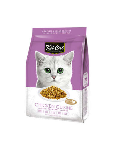 Kit Cat Premium Cat Food - Chicken Cuisine (2 sizes)