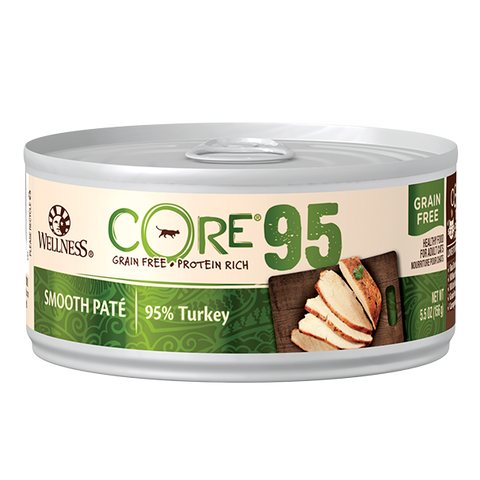Wellness Core 95% Paté Cat Canned Food - 95% Turkey (156g)