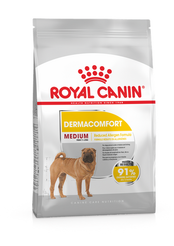 Royal Canin - Medium Dermacomfort Adult Dry Dog Food (3kg/10kg)
