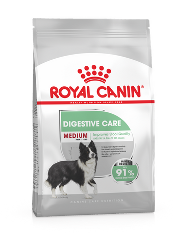 Royal Canin - Medium Digestive Care Adult Dry Dog Food (3kg)