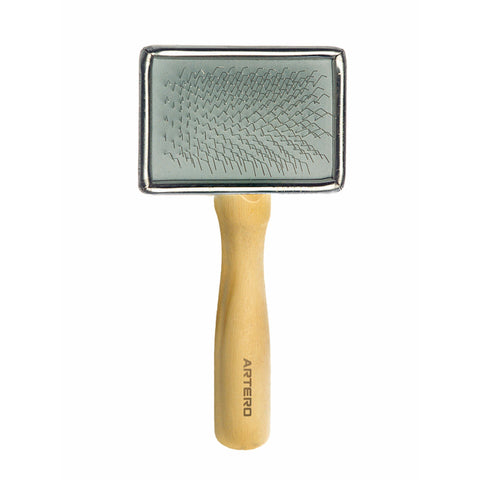 ARTERO Wooden Handle Slicker Brush (4 Sizes)