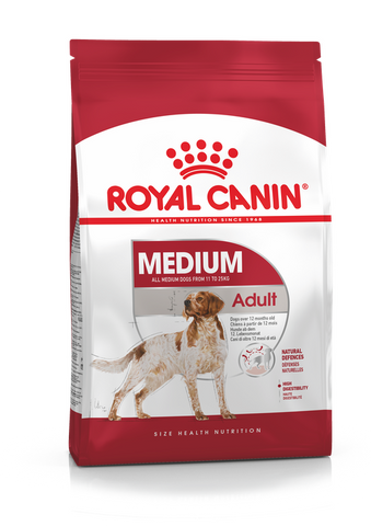 Royal Canin - Medium Adult Dry Dog Food (4kg/10kg)