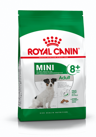 Royal Canin - Mini Adult 8+ Dry Dog Food (1.5kg)