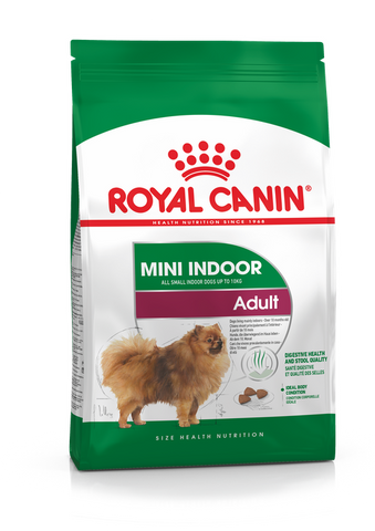 Royal Canin - Mini Indoor Adult Dry Dog Food (1.5kg/3kg/7.5kg)