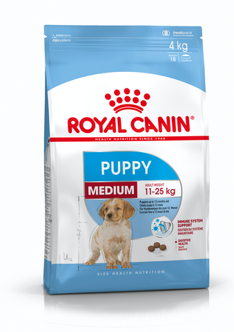 Royal Canin - Medium Junior Puppy Dry Dog Food (10kg)