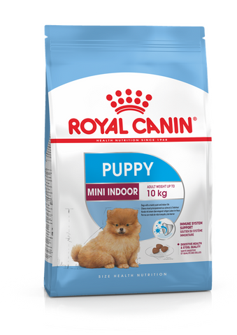 Royal Canin - Mini Indoor Junior Puppy Dry Dog Food (1.5kg)