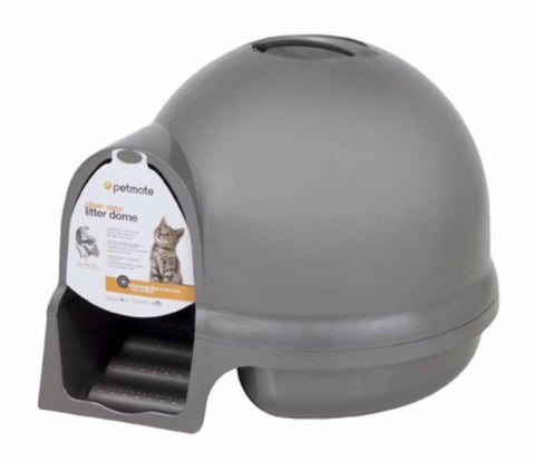 Petmate Booda Dome Cleanstep Litter Box - Grey