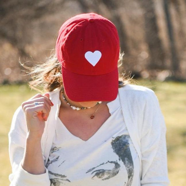 With Heart Red Hat