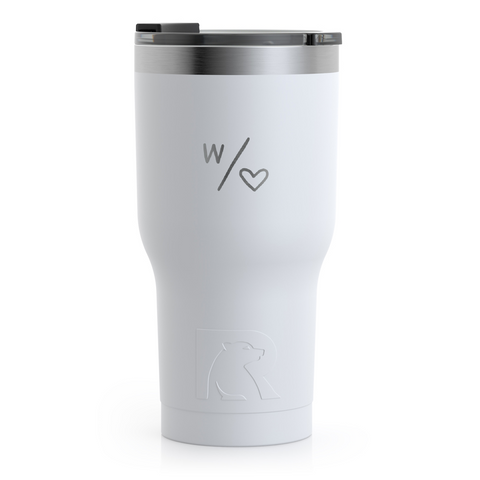 With Heart 30 oz. Tumbler
