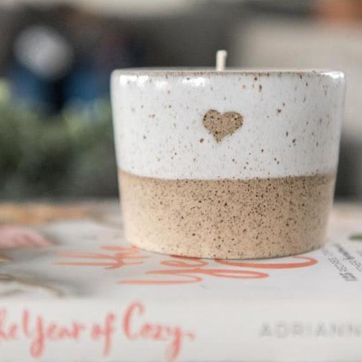 With Heart Soy Blend Candle