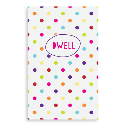 Dwell Prayer Journal for Kids - Rainbow Dot