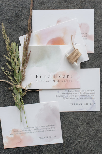 Pure Heart Scripture Cards
