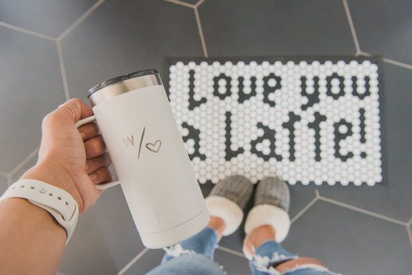 With Heart Travel Mug