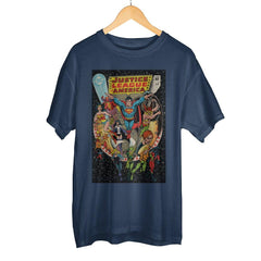 Classic Justice League Boxed Cotton T-Shirt