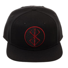 Embroidered Berserk Brand of Sacrifice Stigma Snapback - Dad Hat / Baseball Cap / Baseball Hat