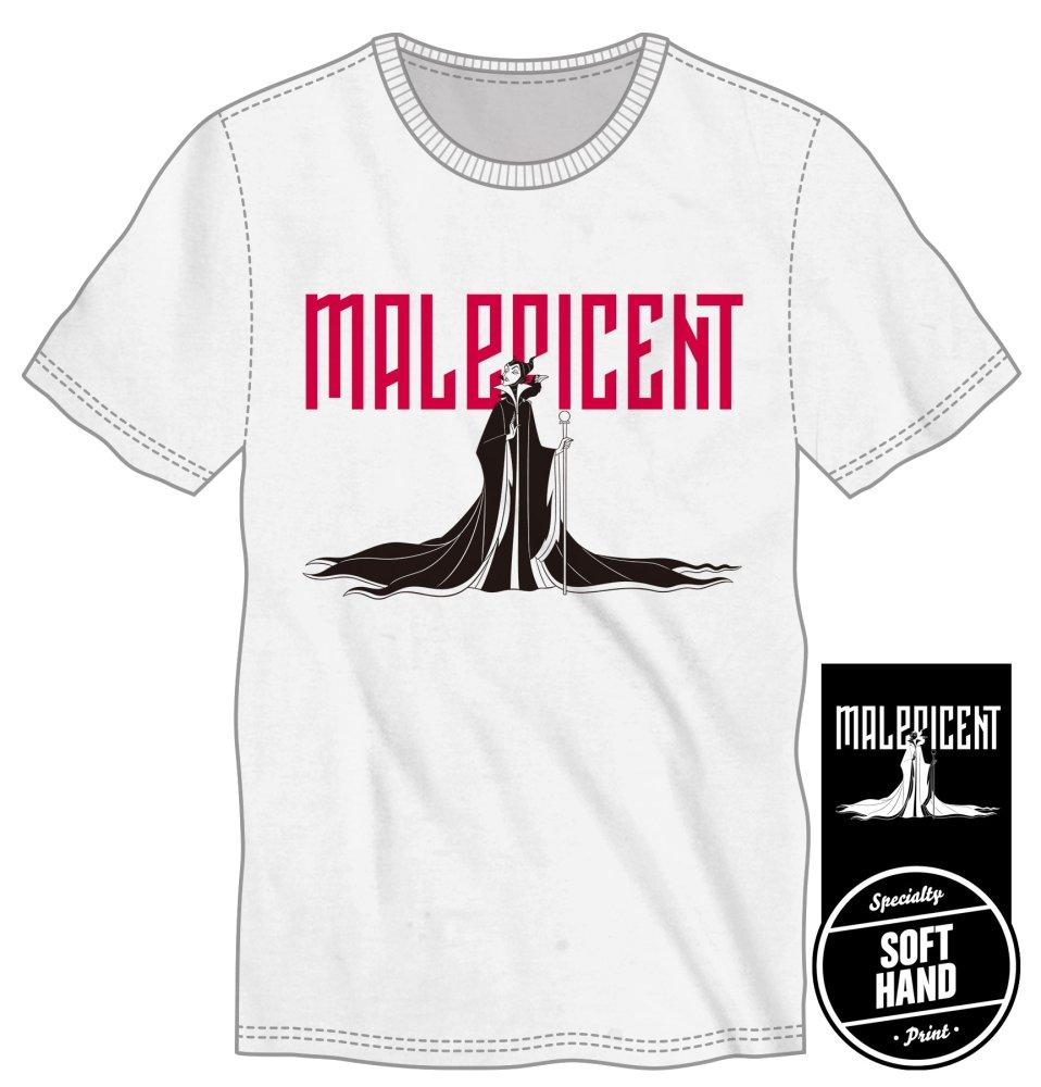 Maleficent Cape and Silhouette Title Shirt