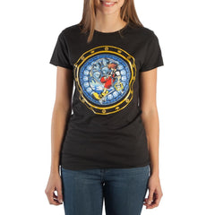 Kingdom Hearts Logo JRS Juniors T-Shirt