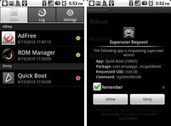 Samsung Galaxy Android UnRoot - Return to Factory